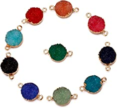 Best druzy connector beads Reviews