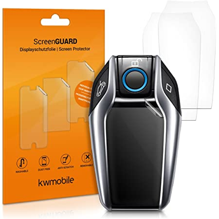 Kwmobile 3x Schutzfolie Kompatibel Mit Bmw Display Key Elektronik