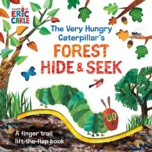 The Very Hungry Caterpillar's Forest Hide & Seek: A Finger Trail Lift-the-Flap Book