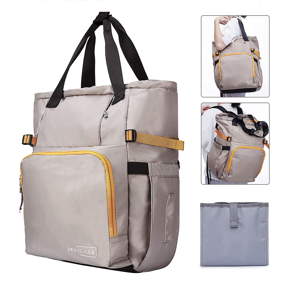 Diaper Bag Backpack, Large Baby Bag, Multi-Functional Travel Back Pack, Waterproof Maternity Nappy Bag Changing Bags with Insulated Pockets Stroller Straps