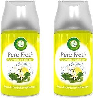AIR WICK Lot de 2 Désodorisants Recharge Freshmatic Fleurs de Citronnier Rafraichissant - 250 ml