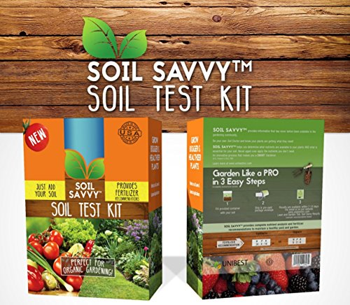For Sale! Soil Savvy - Soil Test Kit | Understand What Your Lawn or Garden Soil Needs - Pack of 4