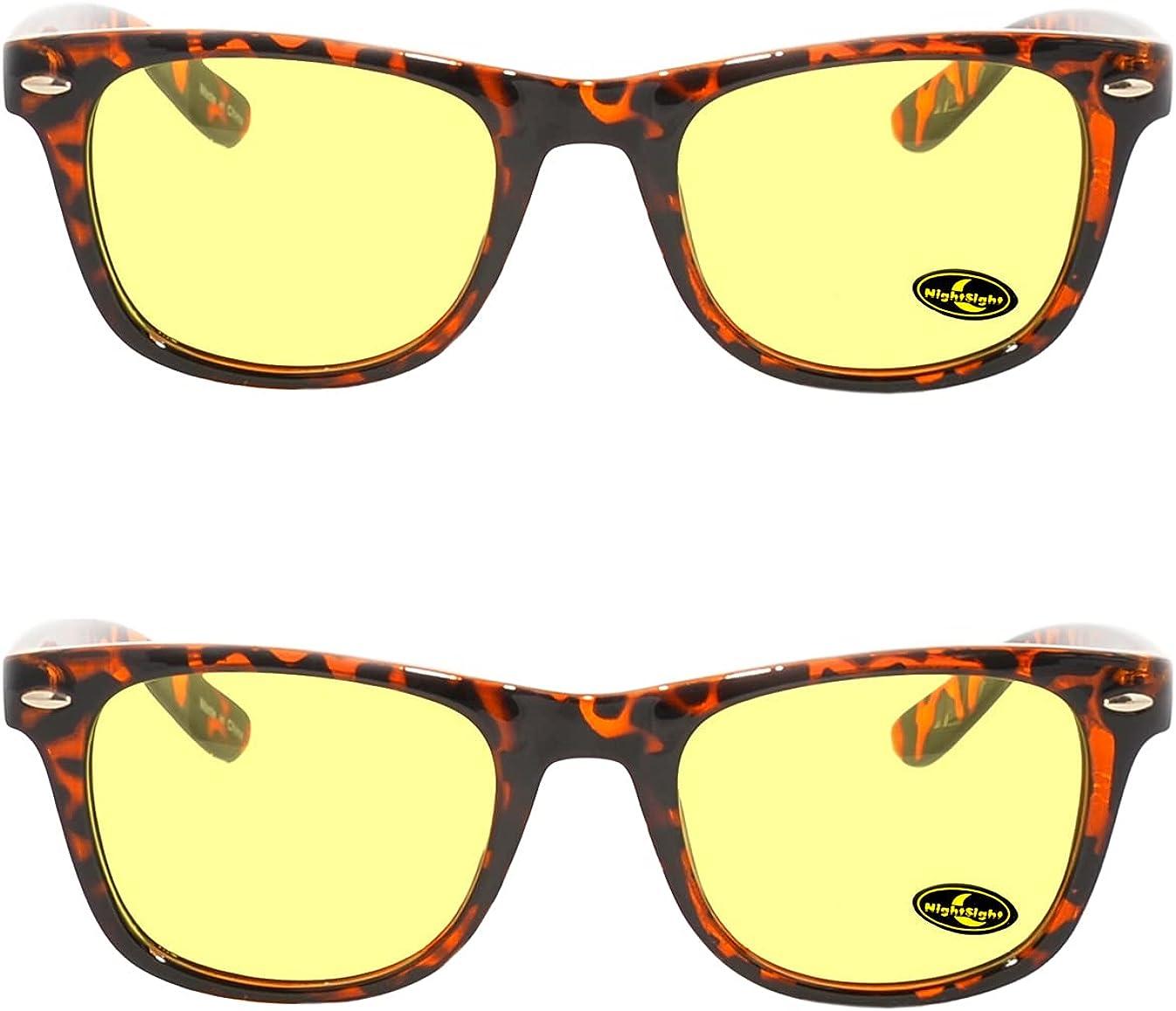 Rainbow Safety - Gafas de visión nocturna polarizadas para hombre