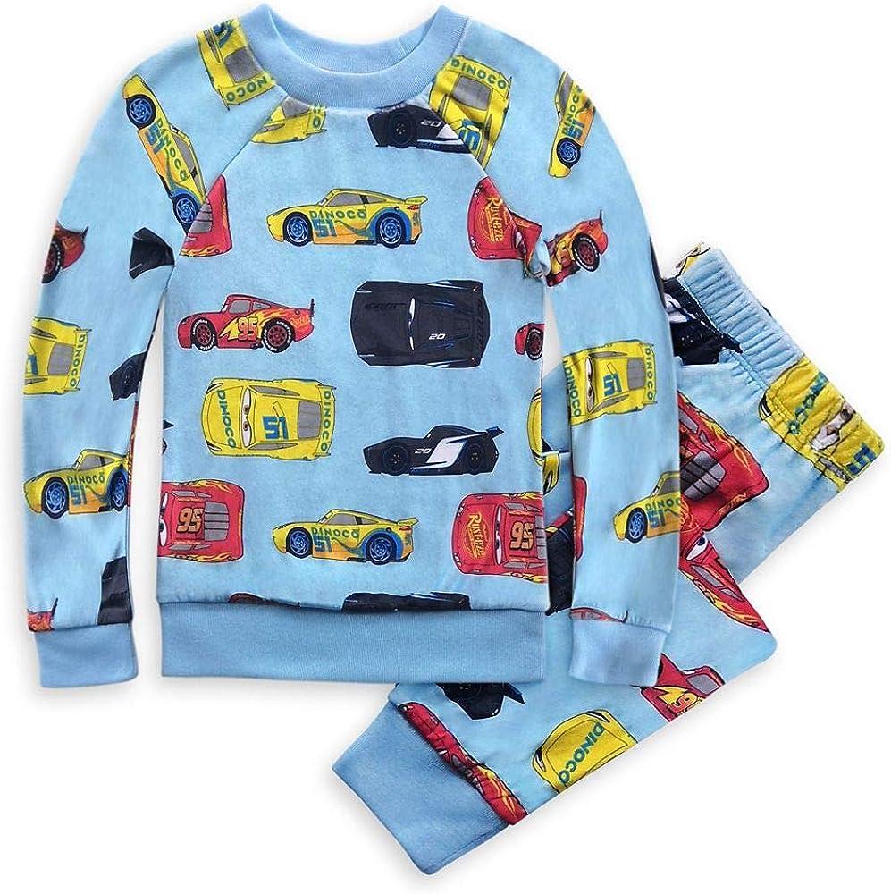 Disney Selling rankings Pixar Cars Oklahoma City Mall Velour for Pajama Set Boys