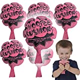 The Dreidel Company Original Whoopee Cushion 6' Fun Classic Fart Prank Sounds Whoopie Prout Noisemaker Party Favor (6-Pack)