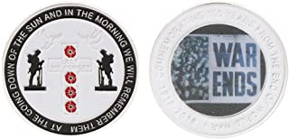 W-FIGHT Commemorative Coin World War 100th Centennial Anniversary Souvenir Collection Pigeon Peace Coins Arts Gifts,Best Choice for Your Friends AS A Xmas, New Year,Birthday Gift
