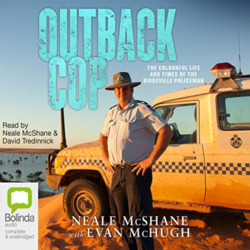 Outback Cop audiobook cover art