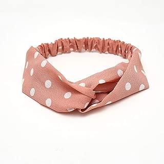 KAEHA SUN-079-00a Diademas El/ástico Turbante Head Wrap Style Bufanda Decorativa Accesorios para el Cabello para Mujeres Vino Tinto