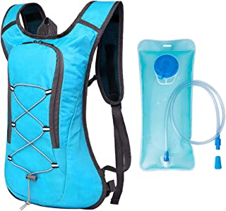 Lixada Breathable Ultralight Bicycle Backpack Outdoor Sport Cycling Camping Hiking Running Hydration Pack Bag with with 2L...