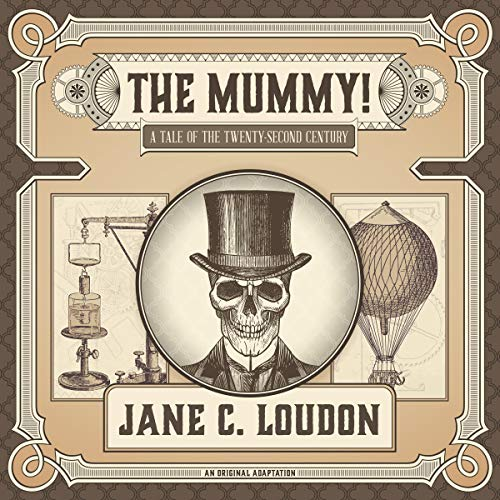 The Mummy! audiobook cover art
