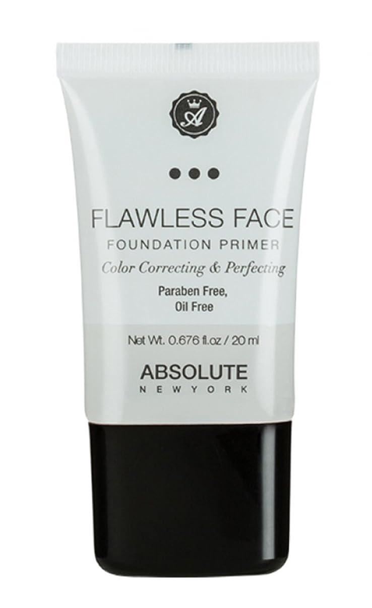 レール影常習的ABSOLUTE Flawless Foundation Primer - Clear (並行輸入品)