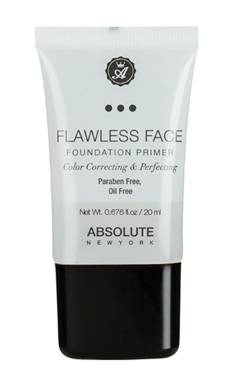 進化するロマンチック黒くするABSOLUTE Flawless Foundation Primer - Clear (並行輸入品)