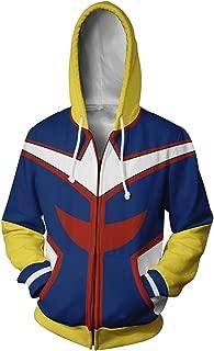 Boku No Hero Academia My Hero Academia All Might Hoodies Sweatshirt Cosplay Costume Battle Suit Jacket