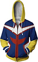NoveltyBoy Boku No Hero Academia My Hero Academia All Might Hoodies Sweatshirt Cosplay Costume Battle Suit Jacket