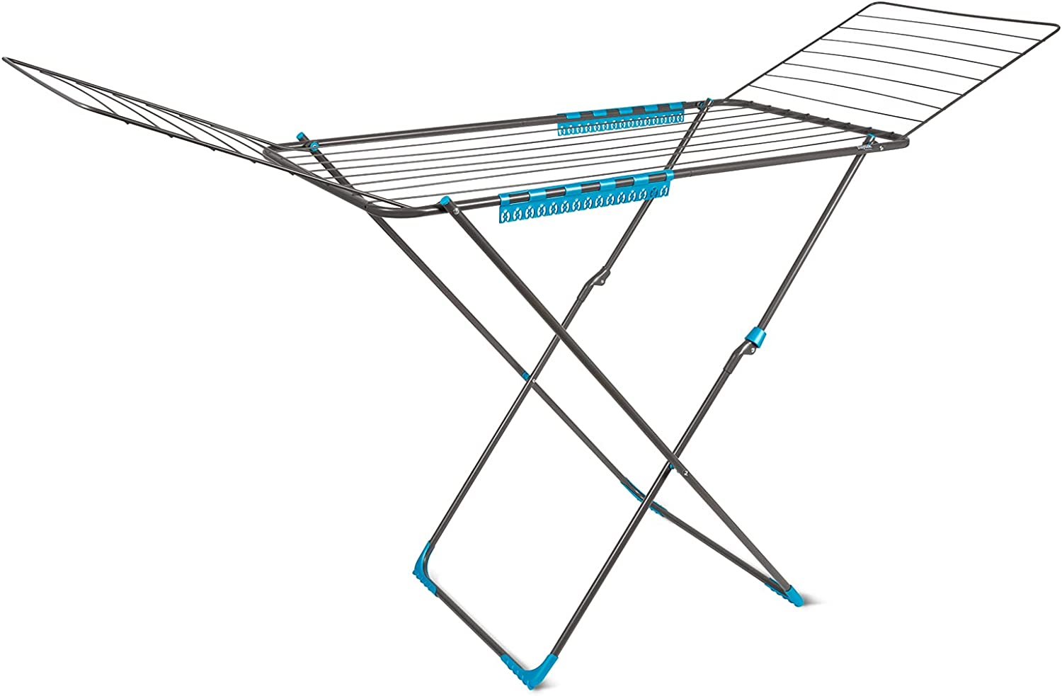 Daytek Winged Clothes Drying Gorgeous Rack 59 Feet Space Max 87% OFF