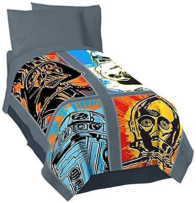 Lucas Film Star Wars Classic Death Star 3 Piece Twin Sheet Set