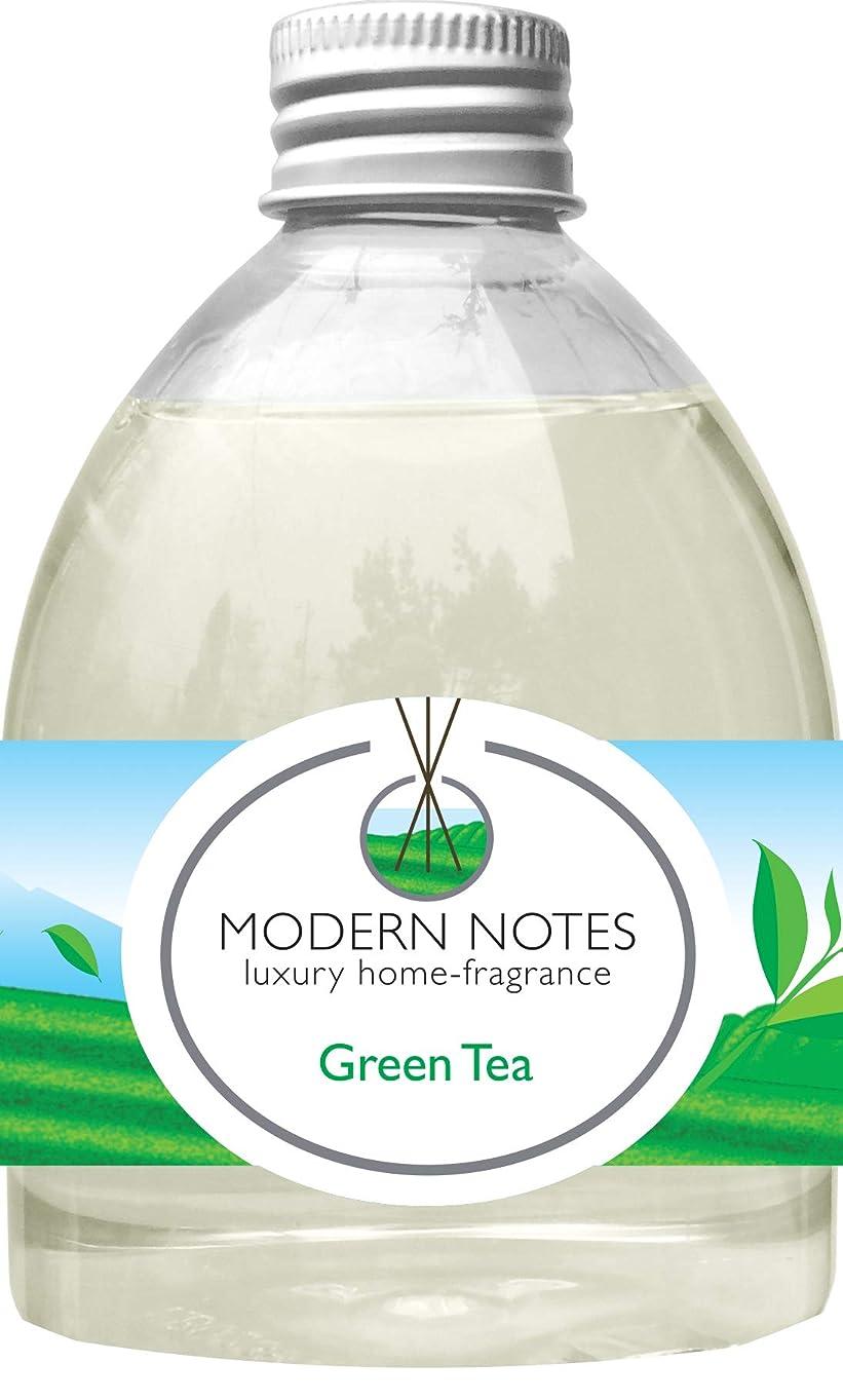 エスカレーター慢な肌寒いMODERN NOTES リードディフューザー(大) GREEN TEA 240mL