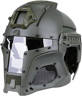 Tactical Military Ballistic Helmet Side Rail NVG Shroud Transfer Base Army Combat Airsoft Paintball Full Face Mask Helmet