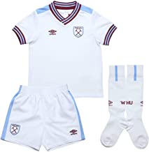 UMBRO 2019-2020 West Ham Away Little Boys Mini Kit