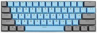 コーン61キーレイアウトOEMプロファイルPBT厚手キーキャップ(キーキャップのみ)60%メカニカルキーボードAnne PRO2用 Ducly one 2 Mini/RK61 GANSS ALT61 IKBC Poker,GH60 iqunix...