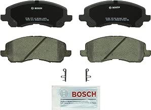Bosch BC866 QuietCast Premium Ceramic Disc Brake Pad Set For Select Chrysler Sebring; Dodge Avenger, Caliber, Stratus; Jeep Patriot; Mitsubishi Eclipse, Galant, Lancer, Outlander; Front