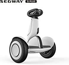 SEGWAY Ninebot S-Plus Smart Self Balancing Transporter - Pro Hoverboard for Adults & Kids Gift - Intelligent Following Robot - UL 2272 Certified