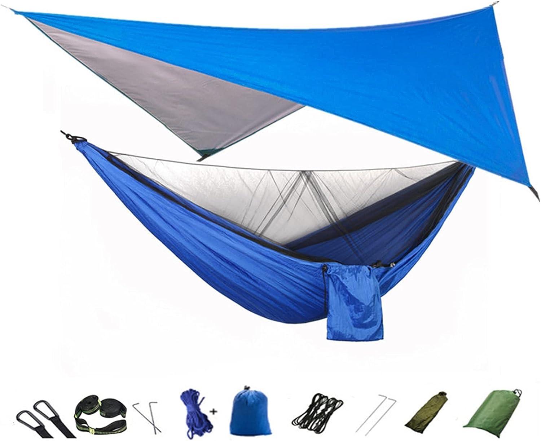 LSXLSD Camping Max 63% OFF Hammock with Mosquito Net Tarp online shopping Rain Porta Fly and