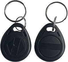 125khz RFID Writable rewritable T5577 fob tag for RFID Writer (Pack of 10) (Black)