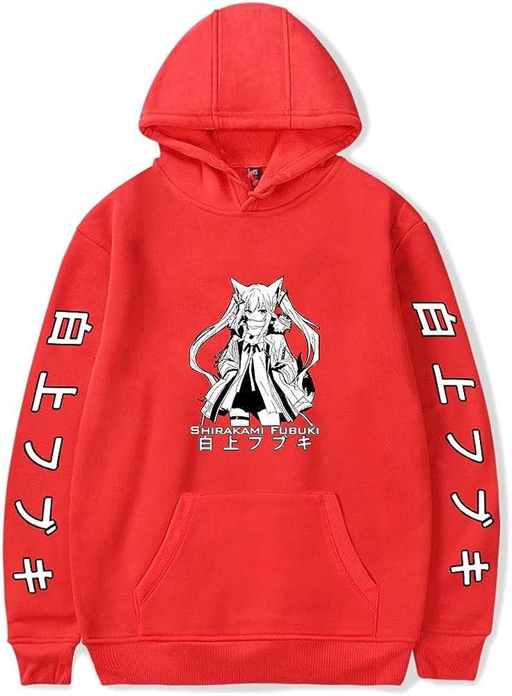 New York Mall Regular discount Shirakami Fubuki Hoodie Unisex Pullovers Women H Tracksuit Men's