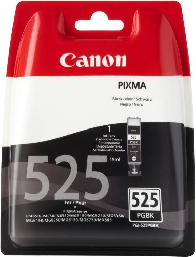 Canon Tintenpatrone PGI-525 PGBK schwarz black - 19 ml für PIXMA Drucker ORIGINAL