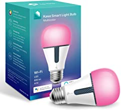 TP-Link Kasa Smart Wi-Fi Light Bulb, Multicolour, Dimmable, No Hub Required, E27 Lamp Base, Control from Anywhere, Works w...