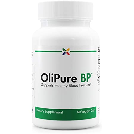 Stop Aging Now - OliPure BP Blood Pressure Support - Olive Leaf Extract with Celery & Magnesium - Blood Circulation, Blood Vessels & Blood Flow Supplement - 60 Vcaps