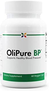Olive Leaf Extract Blood Pressure Support Formula - OliPure BP - Supports Healthy Blood Pressure - Stop Aging Now - 60 Veggie Caps
