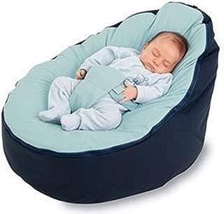 MZS Tec Baby Bean Bag, Baby Seat Nursing Bed Soft Fabric Sleeping Bag Toddler Lazy Causal Sofa Slipcover