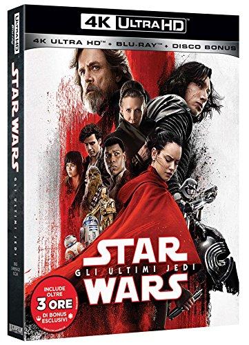 Star Wars - Gli Ultimi Jedi (Blu-Ray 4K Ultra HD+2 Blu-Ray) [Italia] [Blu-ray]