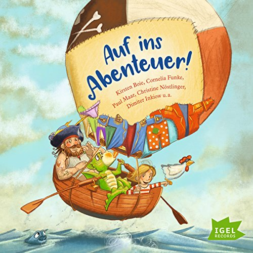Auf ins Abenteuer!                   By:                                                                                                                                 Kirsten Boie,                                                                                        Cornelia Funke,                                                                                        Paul Maar,                   and others                          Narrated by:                                                                                                                                 Jutta Richter,                                                                                        Friedhelm Ptok,                                                                                        Matthias Haase                      Length: 1 hr and 12 mins     Not rated yet     Overall 0.0