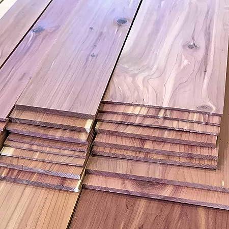 Aromatic 4 Pcs 3//4 x 3 Lumber 3//4 x 3 x 12 Cedar