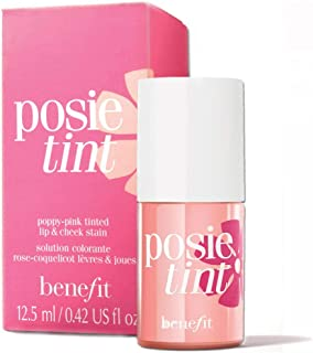Benefit Poppy Pink tinted lip and cheek stain