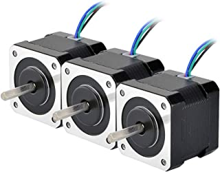 STEPPERONLINE 3PCS 45Ncm Nema 17 Stepper Motor 2A 4-wire 1m Cable for DIY 3D Printer CNC Robot