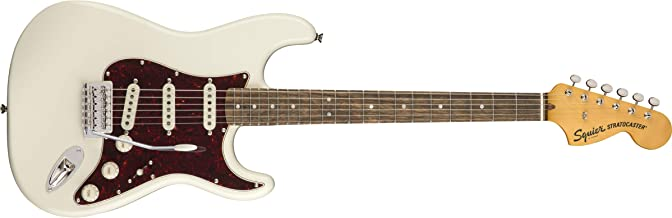 Squier by Fender Classic Vibe 70's Stratocaster Electric Guitar - Laurel Fingerboard - Olympic White