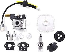 NAVARME Carburetor Kit for Zama RB-K70A K75 Echo GT200 SRM 210 SRM 211 230 231 HC150 200 Grommet Spark Plug Oil Pipe Oil Filter