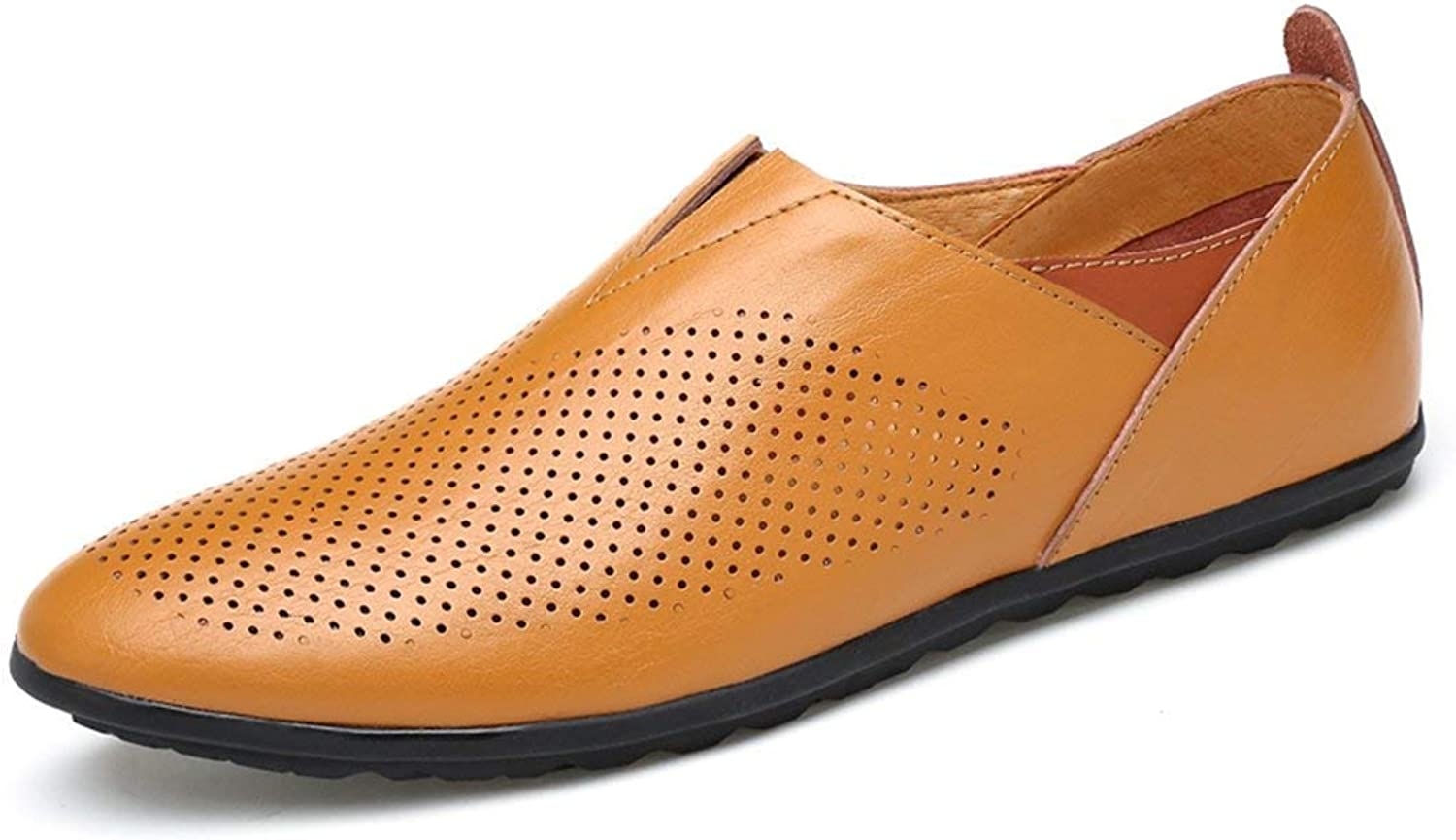 HhGold Männer Mesh Breathable Breathable Breathable Slip-on Braun Bequeme Loafers UK 5 (Farbe   -, Größe   -)  f33737