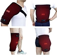 Creatrill Large Heating pad with Wrap for Shoulder, Hip, Back, Knee, Hot Therapy Heated Brace for Menstrual Cramp, Injuries, Arthritis, Tendonitis, Stiff Joints, Muscles Pain Relief
