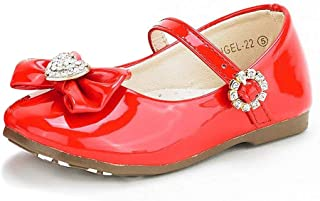 red angel baby shoes
