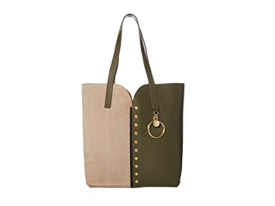 See by Chloe Gaia Small Tote (Night Forest) Handbags