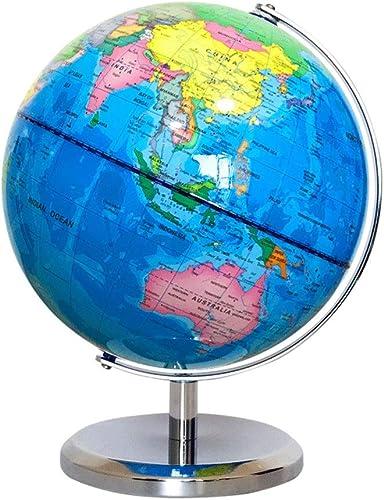 Liuzecai P gogischer Swivel Globeer Für Kinder Student Erwachsene Durchmesser 20cm   Interaktive P gogische Swivel Desktop Globus Home Office Schreibtisch Dekorationen Geschenk