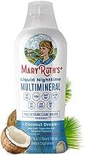 Liquid Sleep Multimineral by MaryRuth (Coconut) Vegan Vitamins, Minerals, Magnesium, Calcium & MSM - Natural Sleep & Stress Aid - Muscle Relaxation - NO Melatonin - Non-GMO Paleo 0 Sugar 0 Fat 32oz
