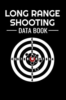 Long Range Shooting Data Book: Shooting Log Book | 100 pages (6