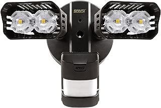 SANSI LED Security Lights, 18W (150Watt Incandescent Equiv.) Motion Sensor Lights, 1800lm 5000K Daylight Waterproof Outdoor Floodlights with Adjustable Dual-Head