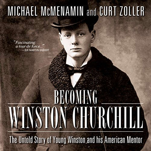 Becoming Winston Churchill cover art